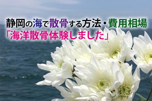 静岡の海で散骨する方法・費用相場|海洋散骨体験しました。